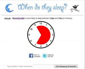 وقت خواب توییتری!
