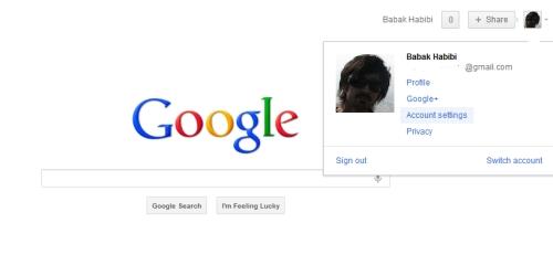 پروفایل گوگل