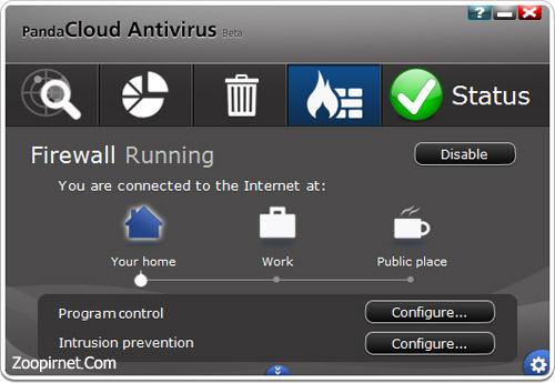آنتی ویروس Cloud پاندا