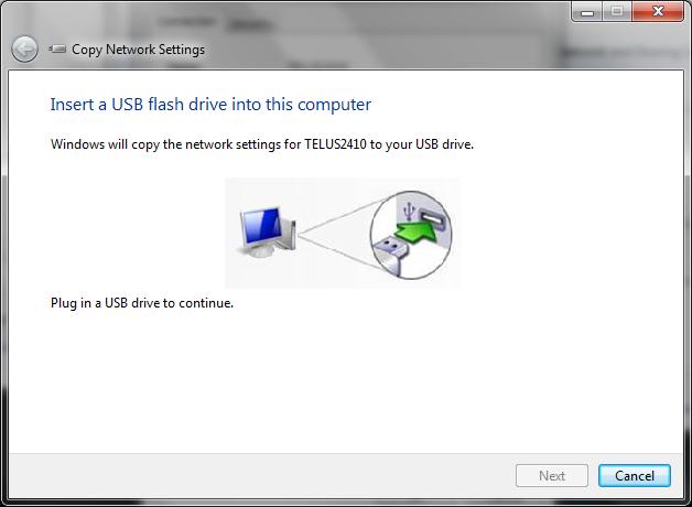 ریختن کانکشن وایرلس بر روی USB